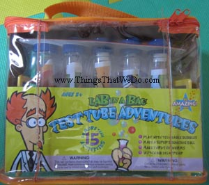 thingsthatwedo.com - Lab in a Bag Test Tube Adventures kit by Be Amazing Toys