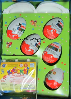 Easter Egg Painting Kinder Surprise Kit TOO COOL