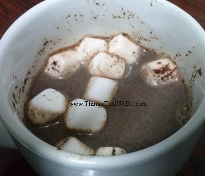 thingsthatwedo.com pic - hot chocolate