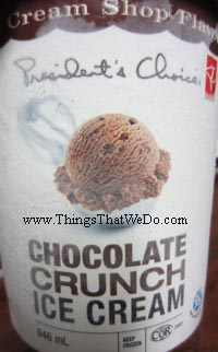 thingsthatwedo.com - PC chocolate ice cream