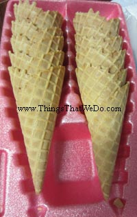 thingsthatwedo.com - PC waffle cones