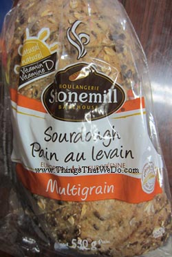 thingsthatwedo.com - stonemill sourdough multigrain bread