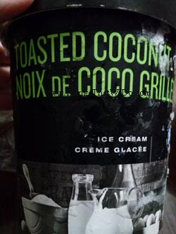 thingsthatwedo.com - pc black label toasted coconut ice cream