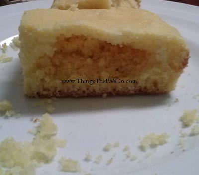 thingsthatwedo.com pic - a different way to eat cornbread