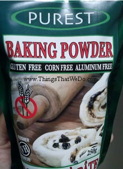 thingsthatwedo.com - purest baking powder