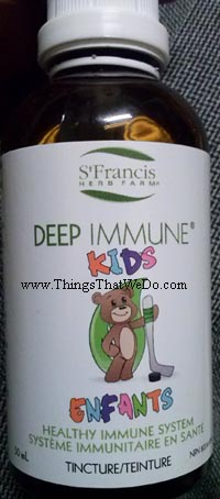 thingsthatwedo.com - st francis herb farm deep immune kids tincture
