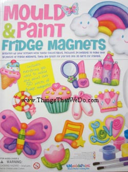 thingsthatwedo.com - 4m mould and paint fridge magnets