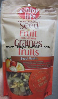 thingsthatwedo.com - enjoy life not nuts seed and fruit mix