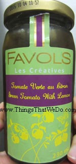 thingsthatwedo.com - favols les creatives green tomato with lemon