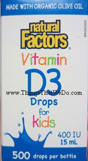 thingsthatwedo.com - natural factors vitamin D3