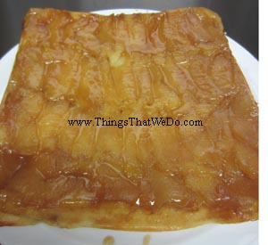 thingsthatwedo.com pic - apple upside down cake