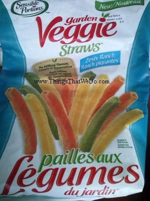 thingsthatwedo.com - sensible portions garden veggie straws zesty ranch