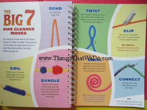 thingsthatwedo.com - Klutz Twisted Critters Pipe Cleaner Book