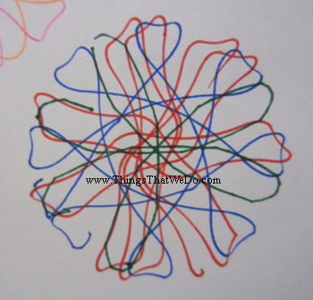 thingsthatwedo.com - spirograph deluxe kit