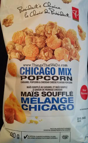thingsthatwedo.com - pc chicago mix popcorn