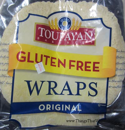 thingsthatwedo.com - toufayan gluten free original wraps
