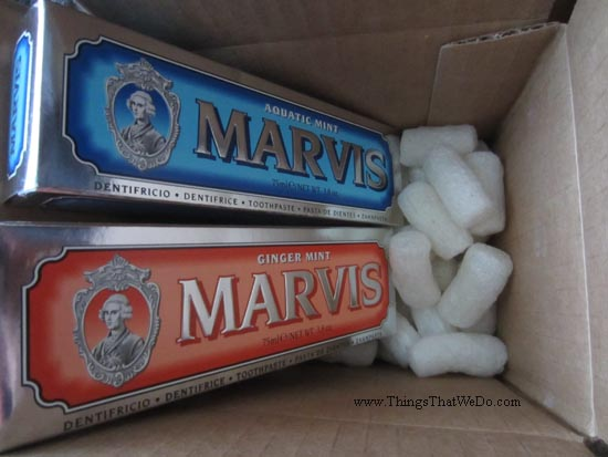 thingsthatwedo.com - marvis toothpaste