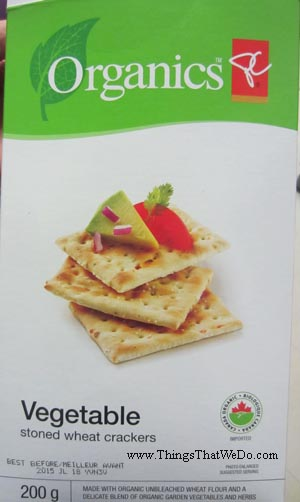 thingsthatwedo.com - pc organics vegetable stone wheat crackers