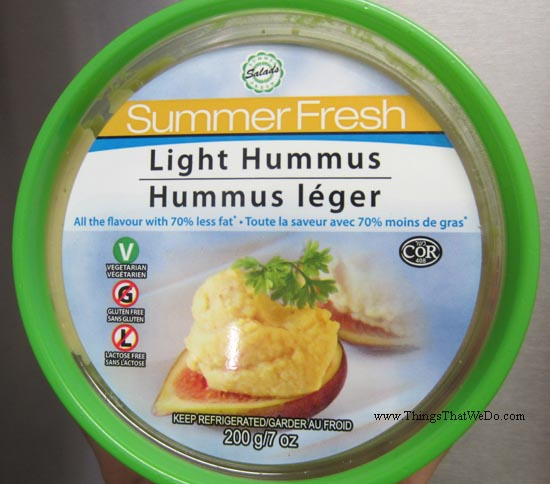 thingsthatwedo.com - summer fresh light hummus