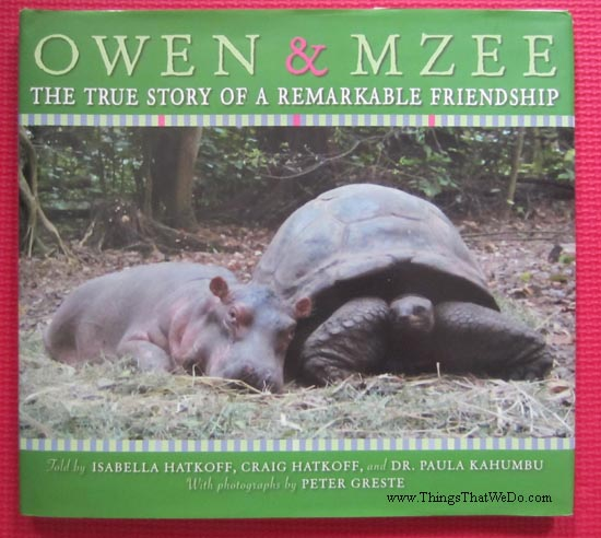 thingsthatwedo.com - owen and mzee book