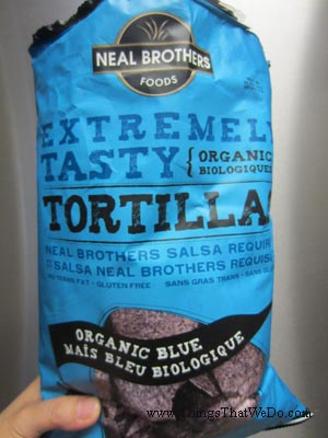 thingsthatwedo.com - neal brothers foods extremely tasty organic tortillas