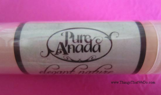thingsthatwedo.com - pure anada cocoa mint lip balm