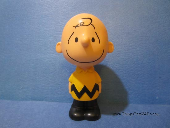 thingsthatwedo.com - charlie brown toy from mcdonalds