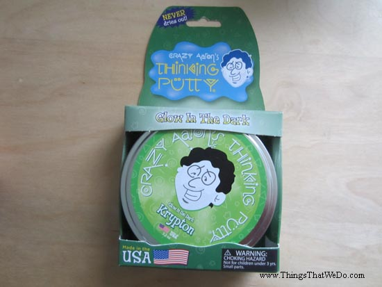 thingsthatwedo.com - crazy aarons thinking putty