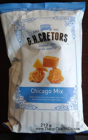 thingsthatwedo.com - gh cretors chicago mix popped corn