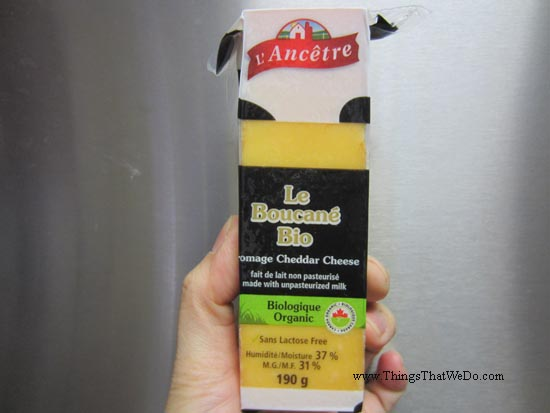 thingsthatwedo.com - l'ancetre organic applewood smoked cheddar