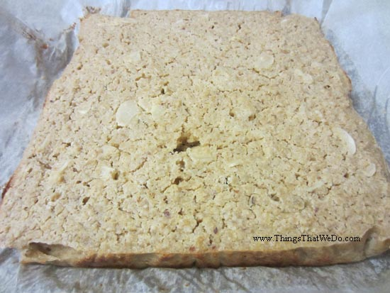 thingsthatwedo.com - baked oatmeal breakfast bars