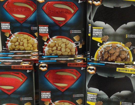 thingsthatwedo.com - superman batman cereal