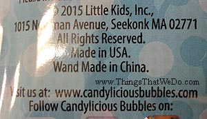 thingsthatwedo.com - candylicious bubbles