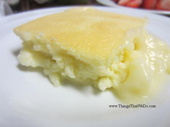 thingsthatwedo.com - lemon pudding cake
