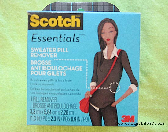 thingsthatwedo.com - scotch-essentials-sweater-pill-remover