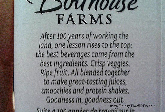 thingsthatwedo.com - bolthouse-farms-berry-boost-smoothie