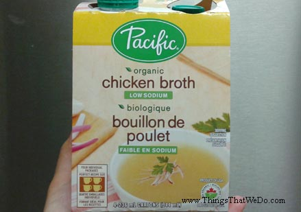 thingsthatwedo.com - pacific-organic-chicken-broth