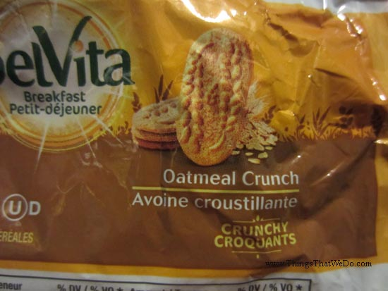 thingsthatwedo.com - belvita breakfast oatmeal crunch biscuits