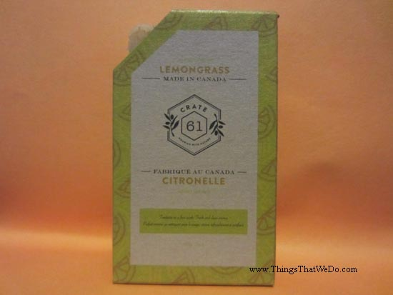 thingsthatwedo.com - crate 61 organics lemongrass soap